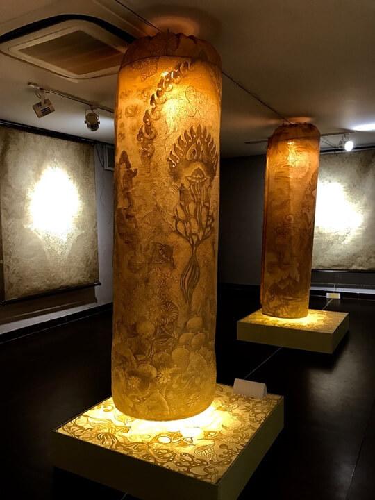 Triển lãm nghệ thuật trúc chỉ ở Đà Nẵng 2017 - 5